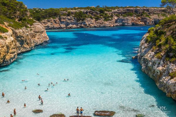 Mallorca rannad